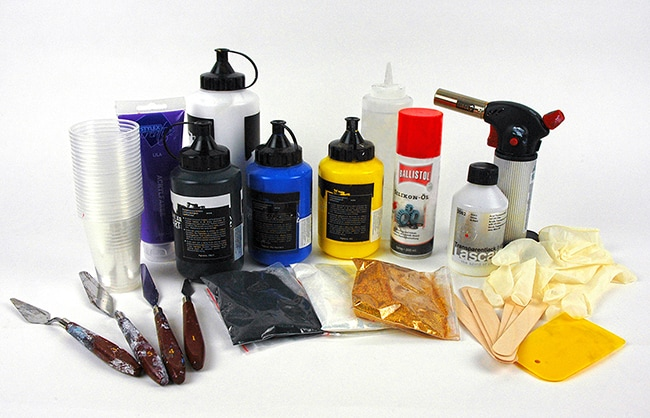 fluid painting material