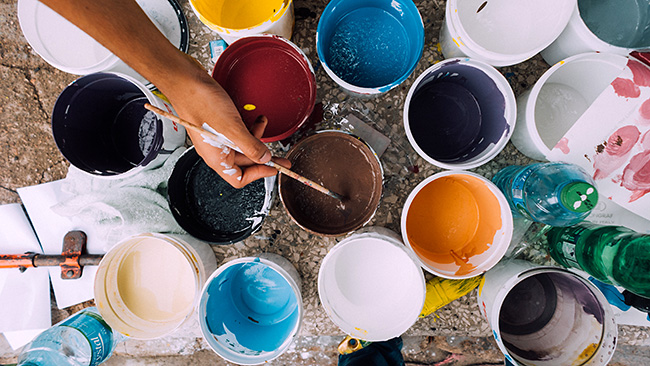 Malen Mit Acryl Alle Informationen Zur Acrylmalerei