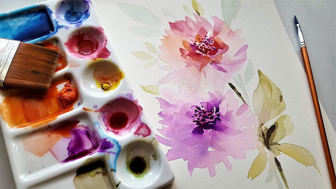 Aquarell malen – Die Anleitung zur Aquarellmalerei