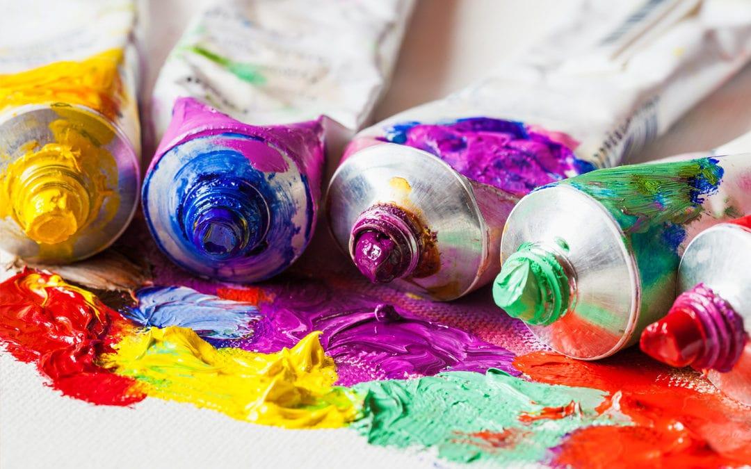 Malen mit Acryl – Alle Informationen zur Acrylmalerei