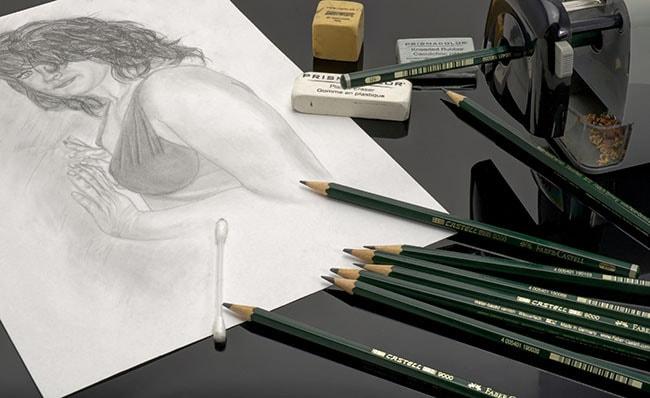 Bleistiftminen Haertegrade