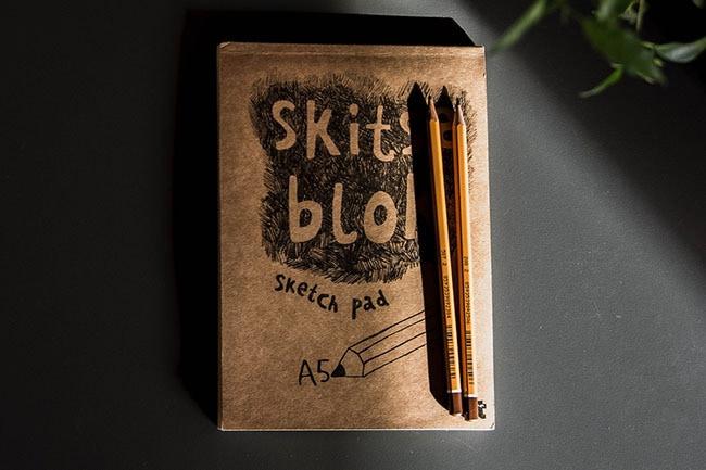 Zeichnen Skizzenbuch