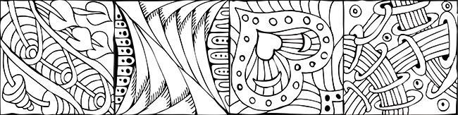Zentangle Anleitung Muster