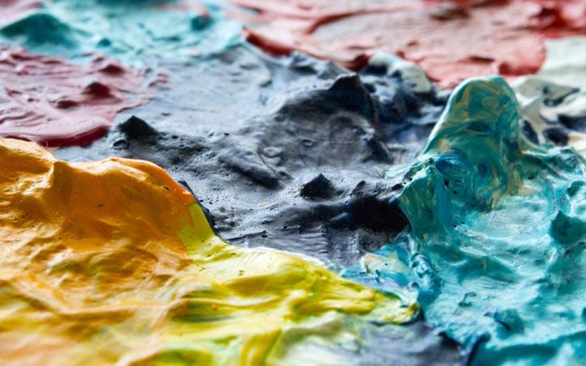 Acrylfarbe verduennen