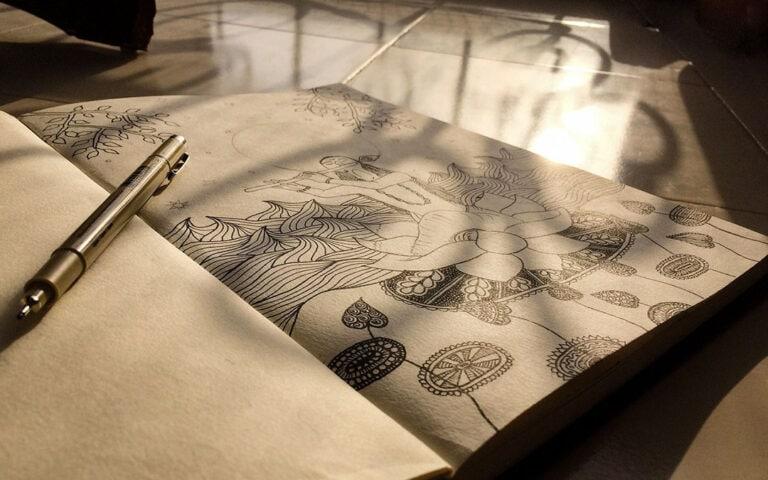 Zentangle Anleitung – Lerne die entspannende Zeichentechnik