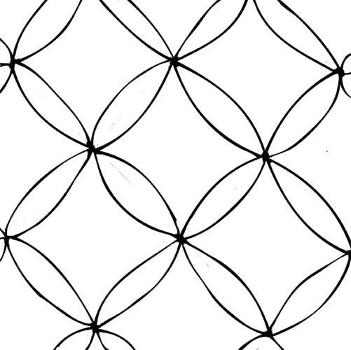 zentangle anleitung schritt1