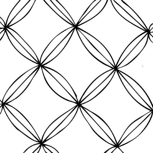 zentangle anleitung schritt2