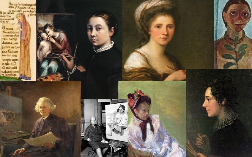 Berühmte Malerinnen aus allen Epochen und ihr Kampf um Ansehen
