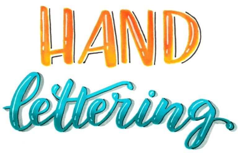 Handlettering lernen – Die Kunst der schönen Buchstaben