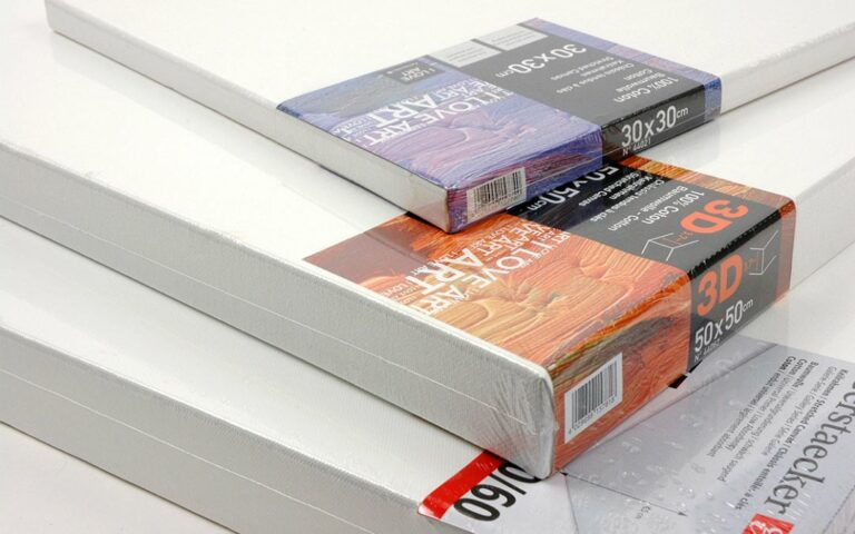Leinwand grundieren – Anleitung und Materialien für alle Malmedien