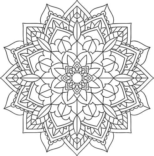 Die 20 Schönsten Mandalas Zum Ausdrucken Und Ausmalen