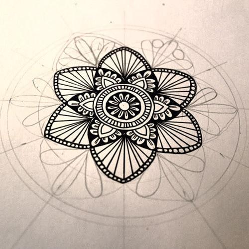 Mandala Malen Anleitung Für Deine Ersten Mandala Bilder