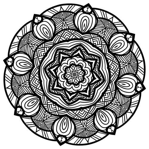 mandala zum ausdrucken 3
