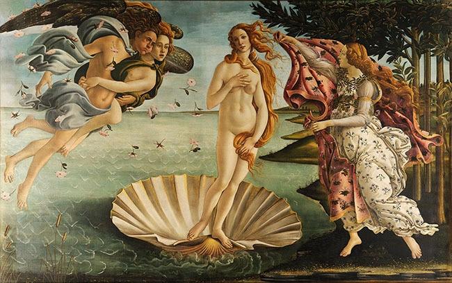 bekannte gemaelde botticelli