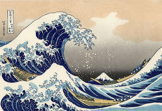 berühmte gemaelde hokusai