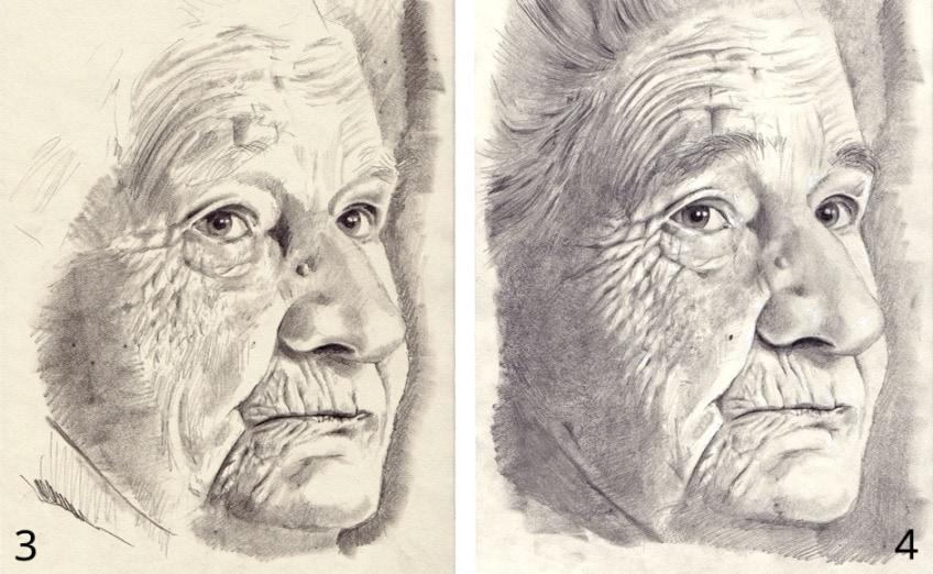 portrait zeichen anleitung