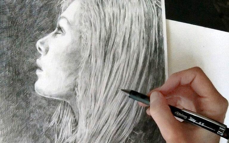 Portrait zeichnen lernen – Anleitung Schritt für Schritt