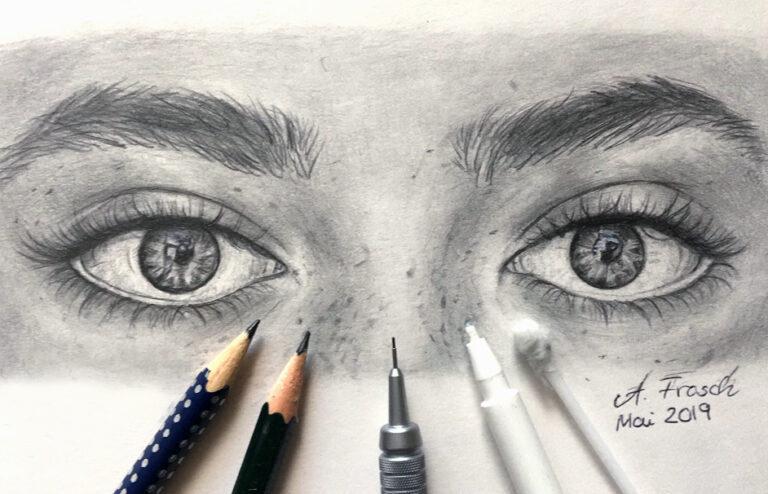 Augen Zeichnen – Detaillierte Anleitung für lebensechte Augen Zeichnungen
