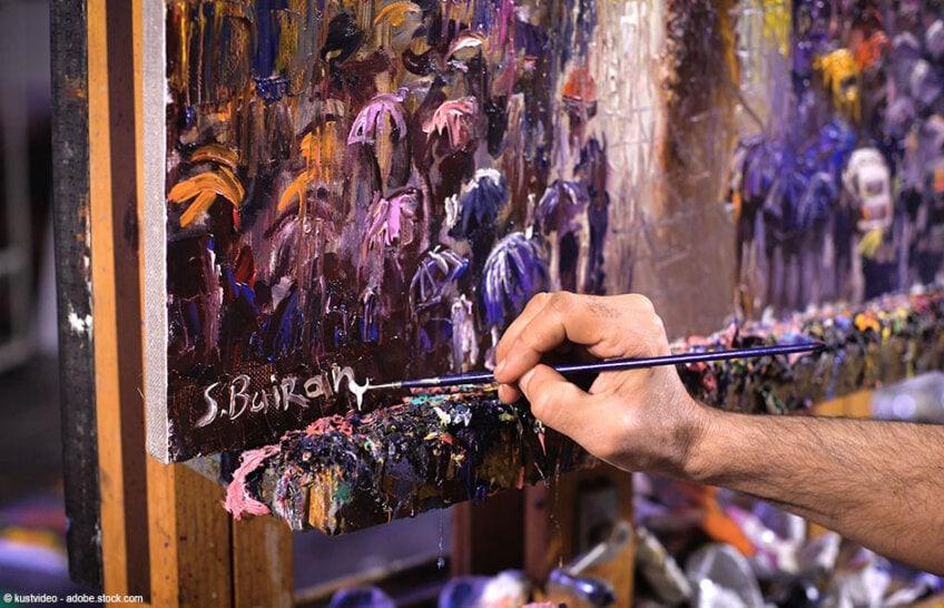 Gemälde Maler finden und bestimmen – Finde den unbekannten Künstler