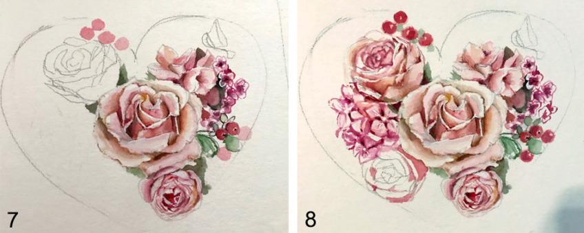 malen von rosen