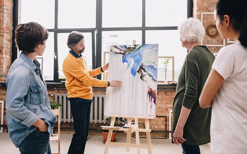 eigene kunst verkaufen atelier