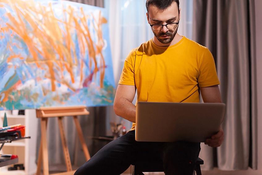 eigene kunst verkaufen online