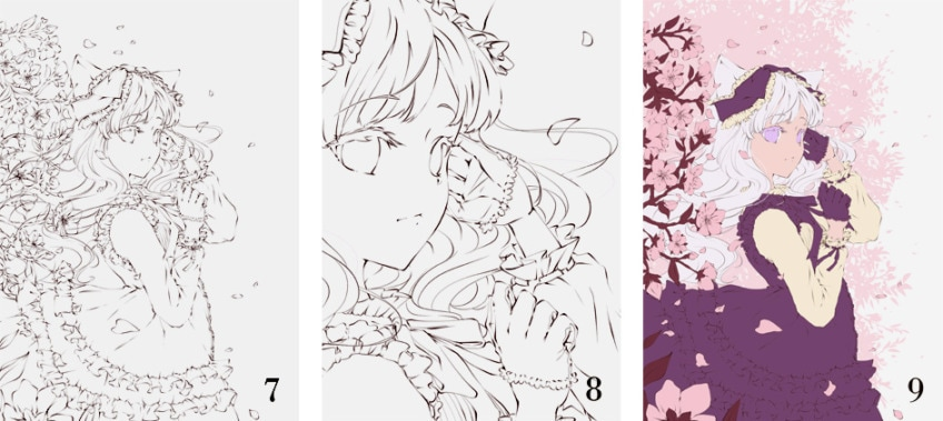 manga zeichnen arbeitsschritte 3