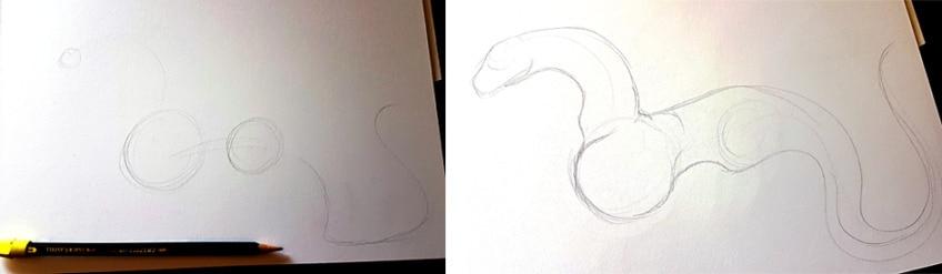 drachen zeichnen anleitung1