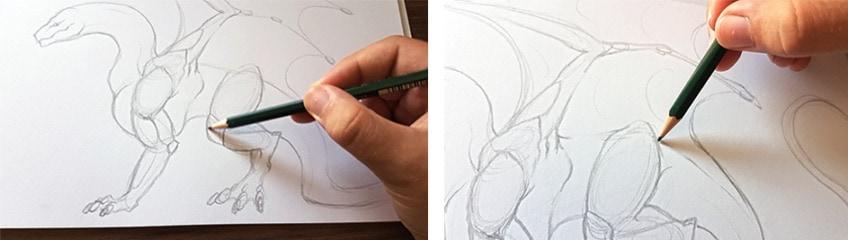 drachen zeichnen anleitung3