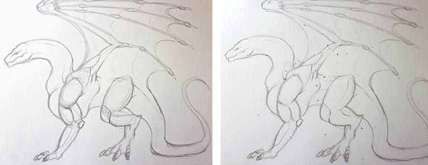drachen zeichnen anleitung4
