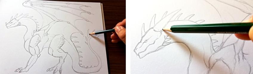 drachen zeichnen anleitung5