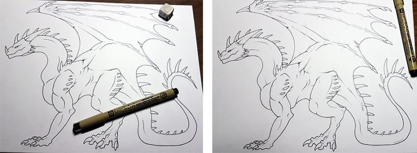 drachen zeichnen anleitung8
