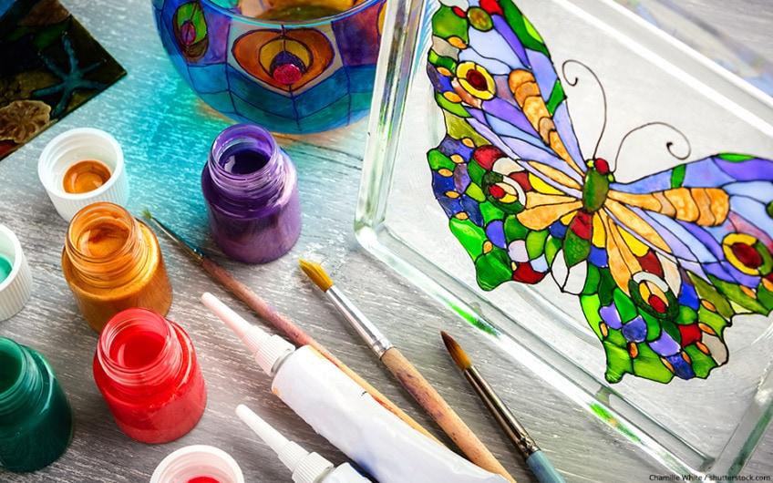 Glas bemalen – Alles Wissenswerte, Anleitungen und Inspirationen