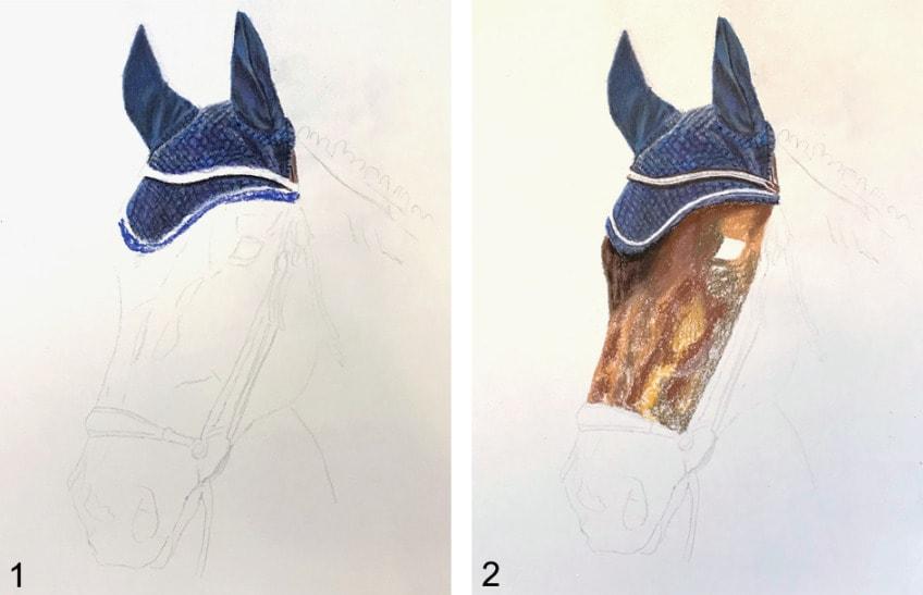pferd zeichnen schritt für schritt