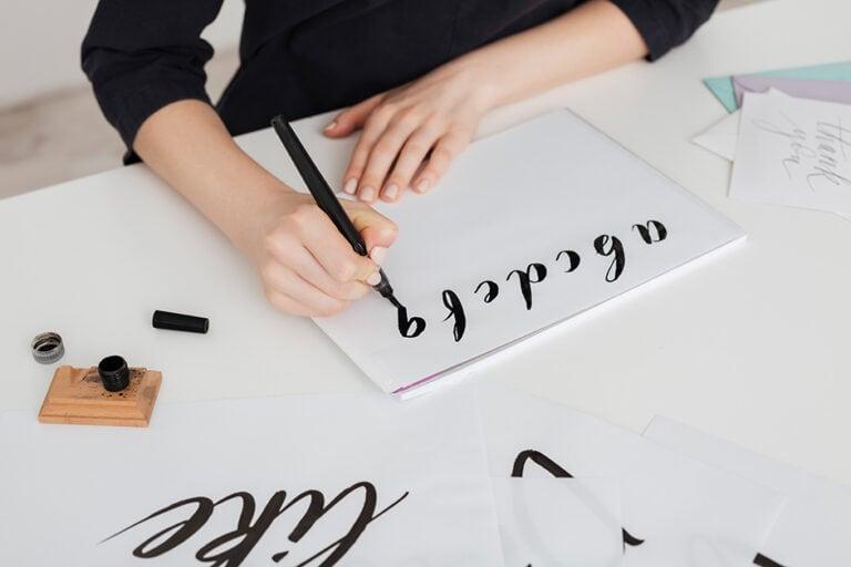 Kalligraphie lernen – Umfangreiche Anleitung Kalligraphie für Anfänger
