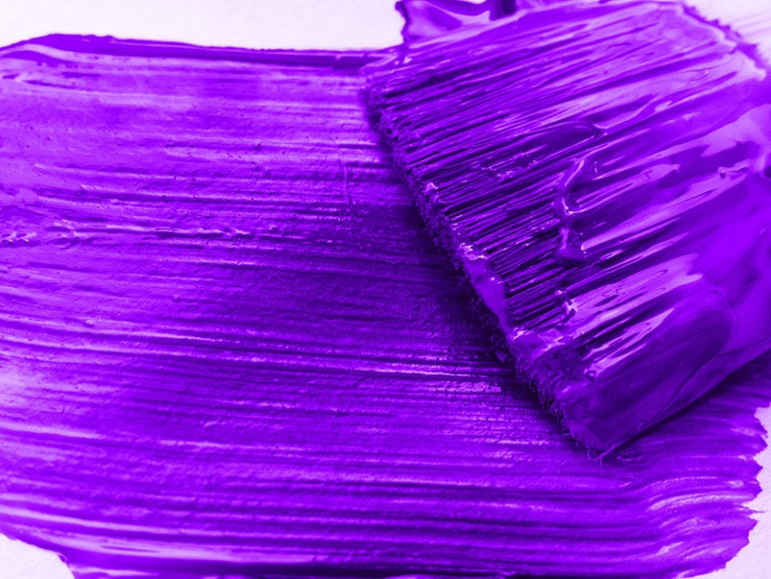 farbe violett