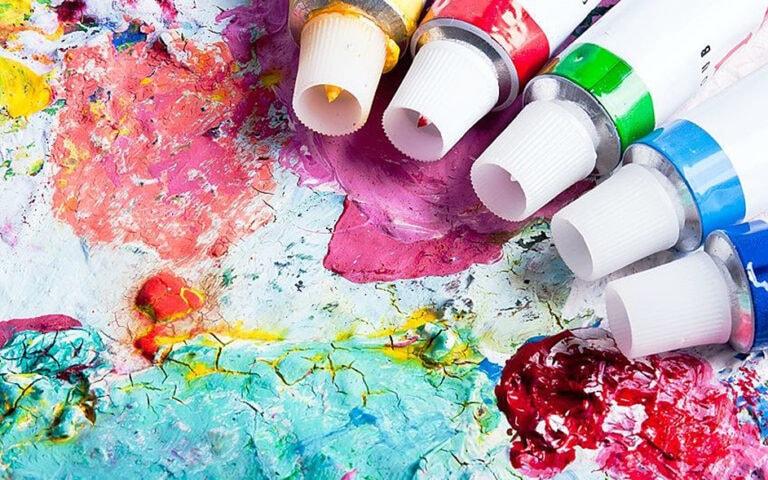 Ist Acrylfarbe wasserfest? Alles was du dazu wissen musst
