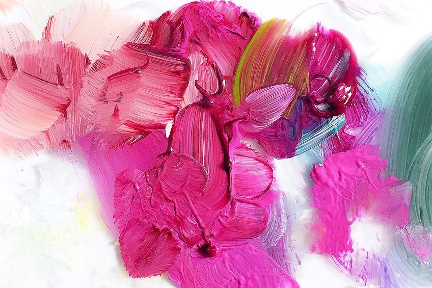 dunkles pink