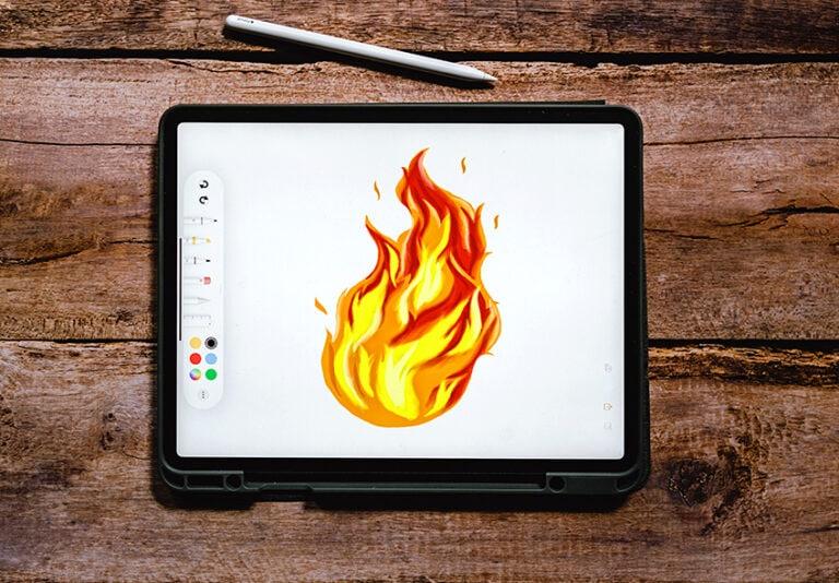 Feuer zeichnen – Lerne realistische Flammen zu malen