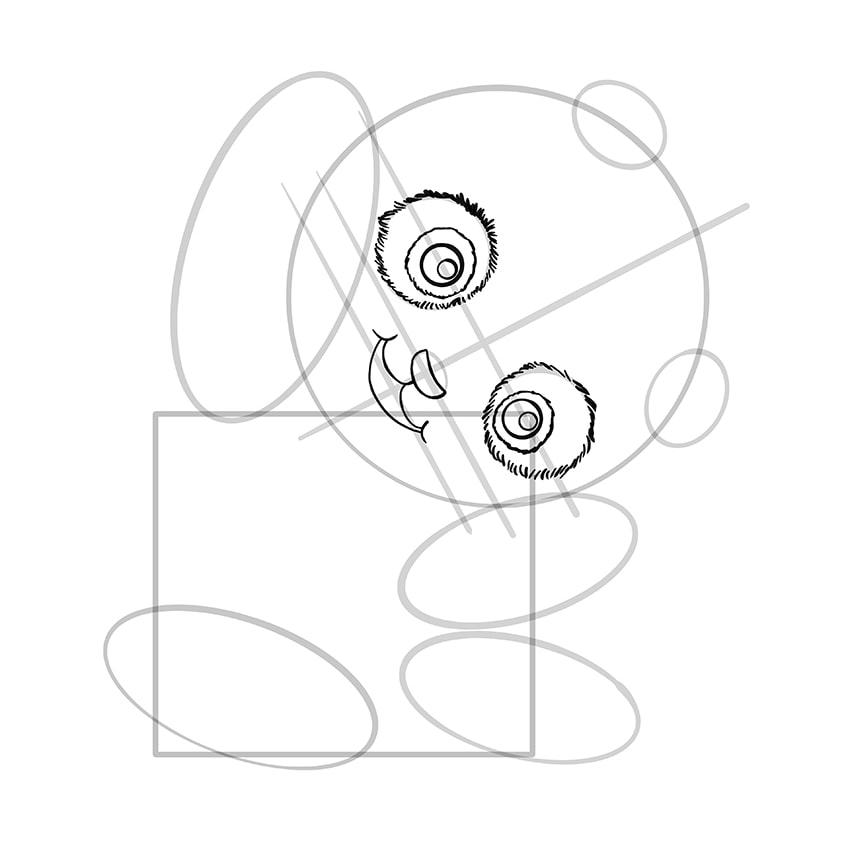 panda zeichnen schritt 08