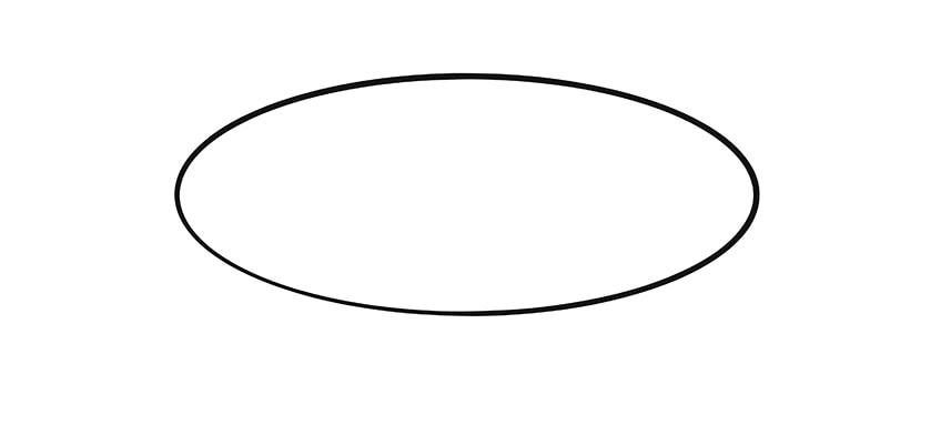 schwan zeichnen schritt 01