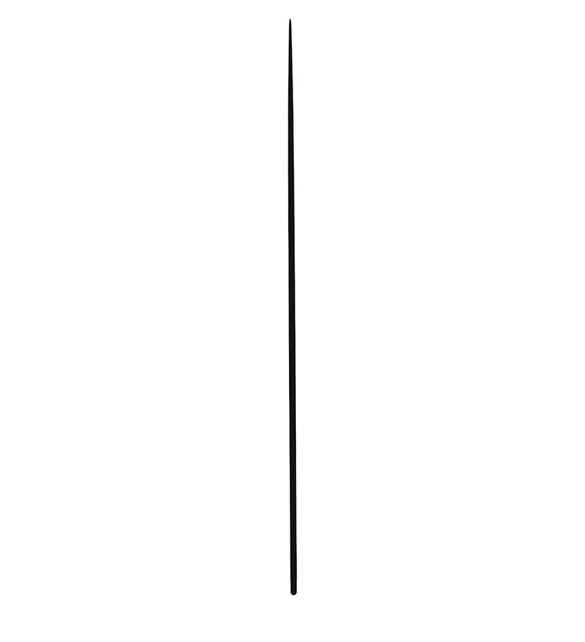 nadelbaum zeichnen schritt 01