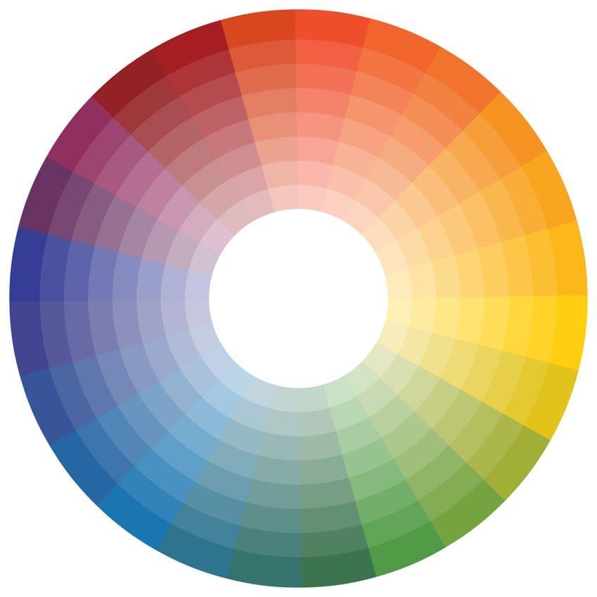 welche farben ergeben lila