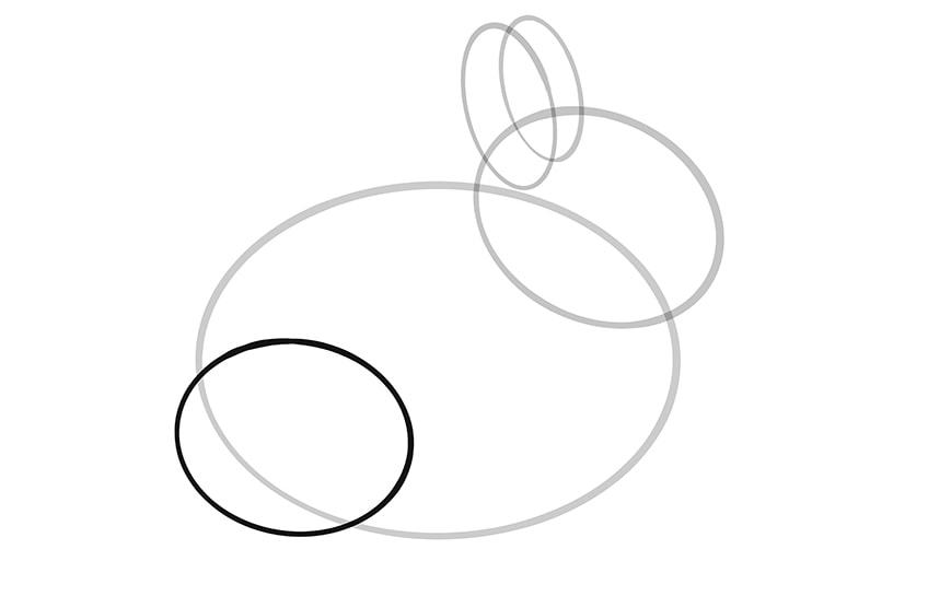 Osterhase zeichnen Schritt 04