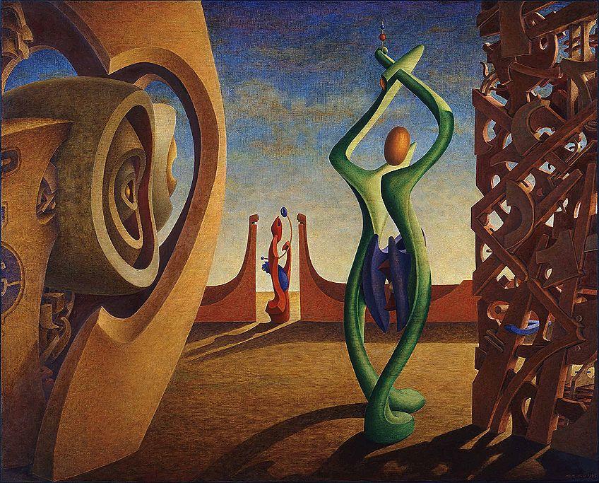 Surrealismus Kunst Beispiel