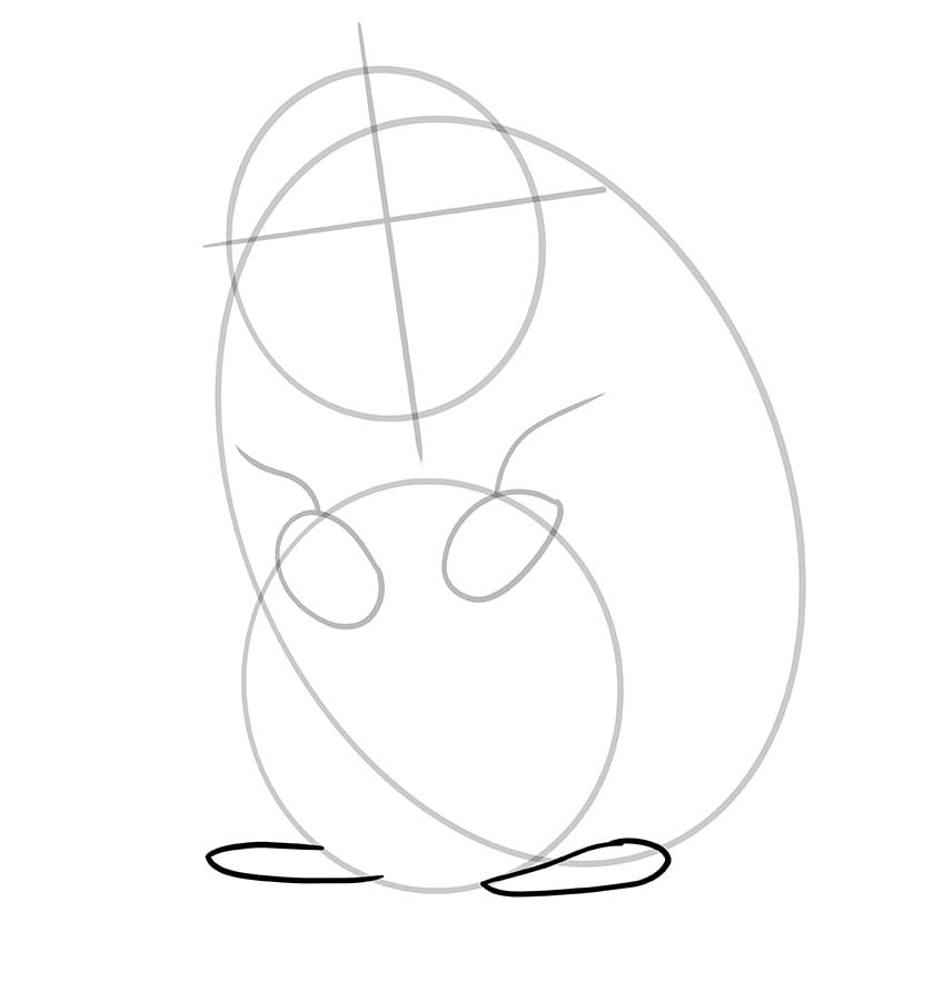 hamster zeichnen schritt 06