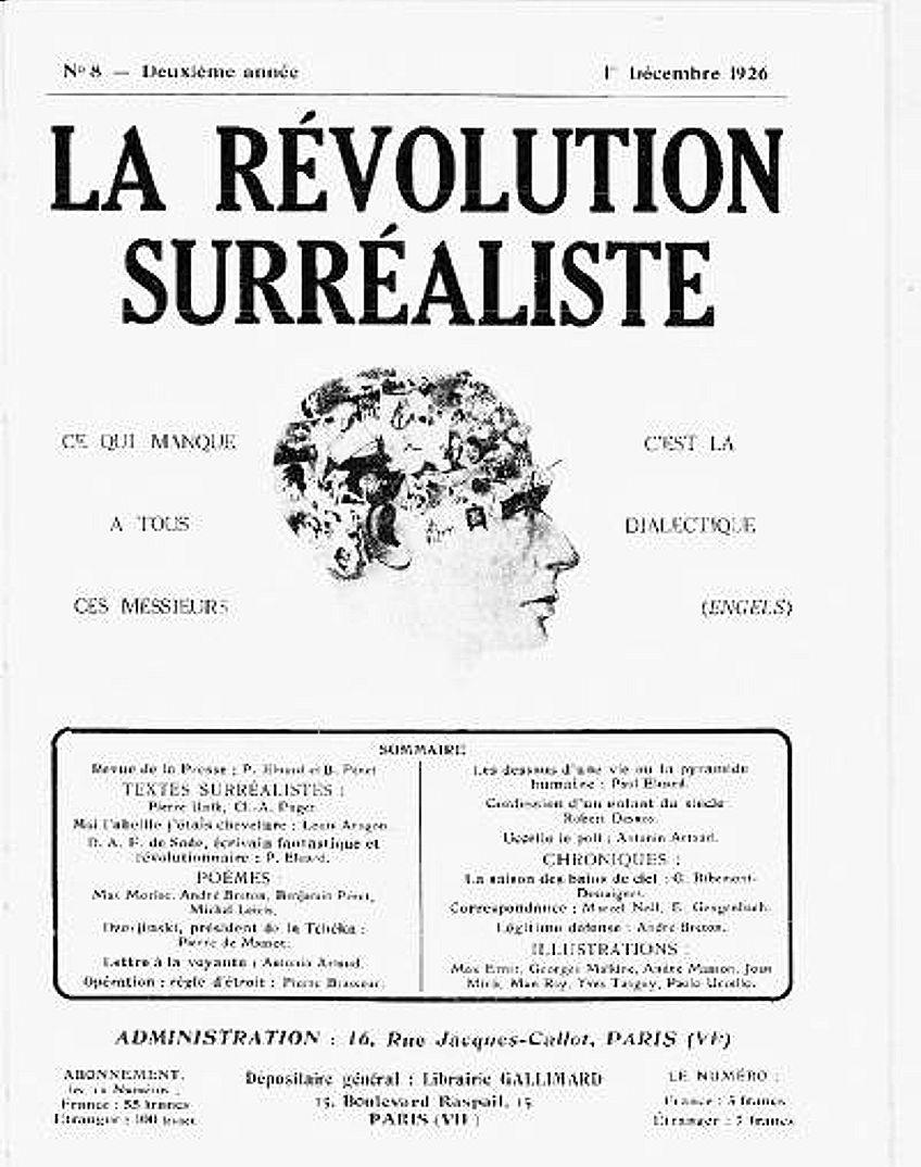 surrealismus kunstbewegung Manifest