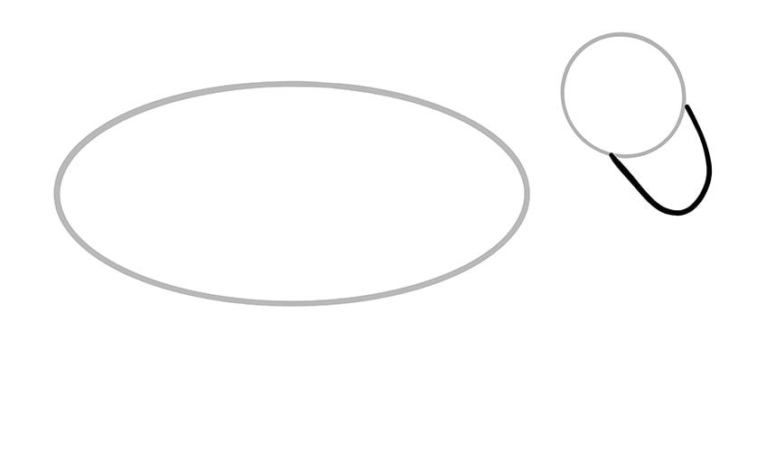 Esel zeichnen 03