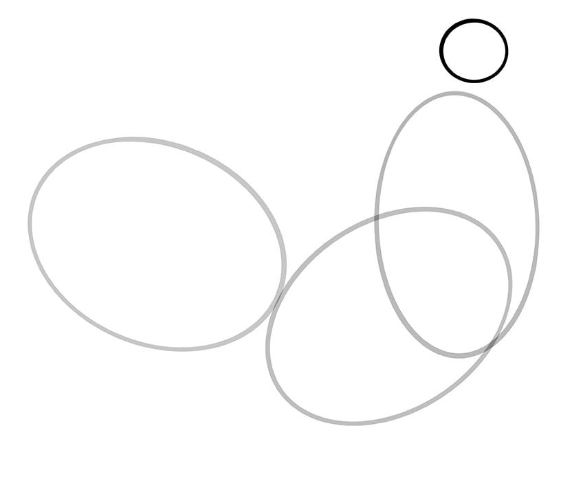 Hahn zeichnen 04