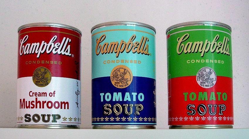 Pop Art Campbells